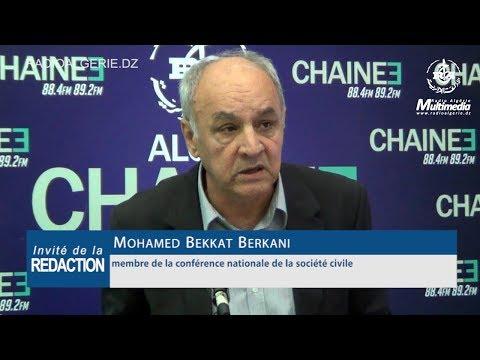 Mohamed Bekkat Berkani membre de la conférence nationale de la société civile
