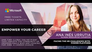 Facing the HR Challenges with PowerPlatform (EN ESPAÑOL) - Ana Inés Urrutia