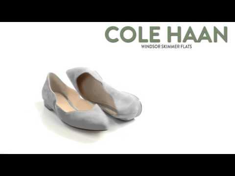 Cole Haan Windsor Skimmer Flats - Suede (For Women)