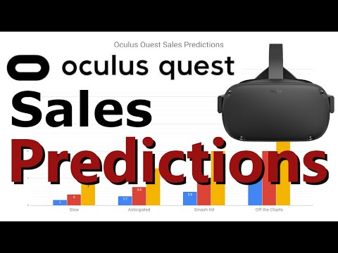 Good Video on Oculus Quest Sales Predictions  5M 1st year