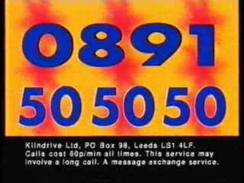 gay chat advert 90s
