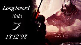 "【MHW】極ベヒーモス討滅戦 太刀 ソロ 18'12""93 / Extreme Behemoth Long Sword Solo"