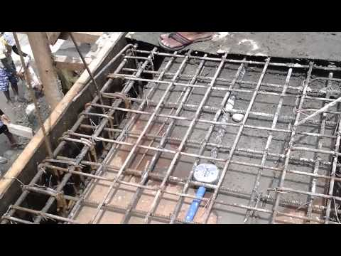 2-Storey Commercial Building Part III video2 (Flooring of 2nd Floor)