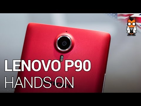 Lenovo P90 Smartphone Hands on at CES 2015