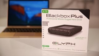 The Glyph Blackbox Plus is one excellent USB-C portable drive