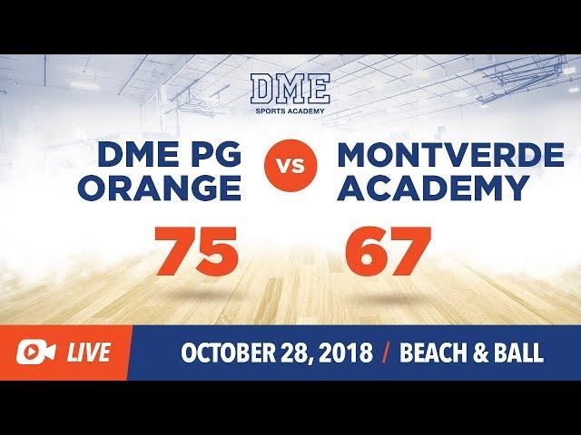 DME Orange vs MonteVerde