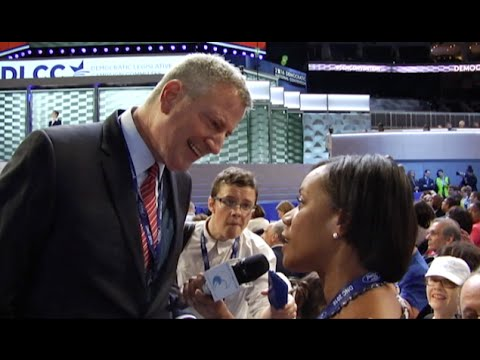 Currents Interview Bill de Blasio and Chuck Schumer