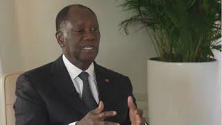 """Alassane Ouattara : """"Tout est rentré dans l'ordre"""" avec Guillaume Soro"""