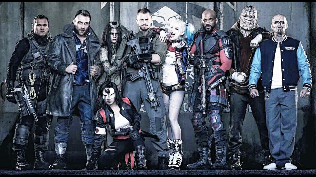 Suicide Squad Team Breakdown Character Bio S Youtube