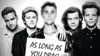 Baixar - One Direction Vs Justin Bieber As Long As You Drag Me Down Mashup Grátis