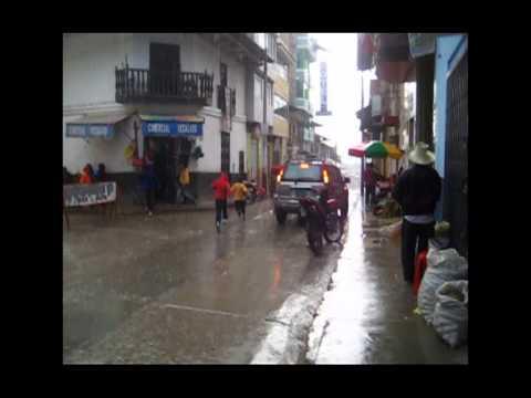 Chota y su lluvia
