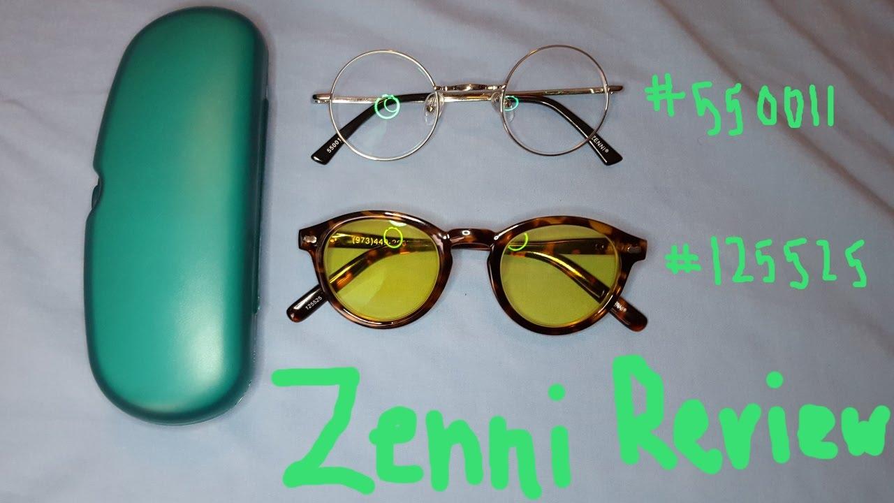 de626bded7c Zenni Optical Review (frames 550011 and 125525)