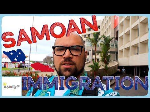 SAMOAN IMMIGRATION | MARI'S CAFE | AMANAKI'S | SAMOAN VLOG | Episode 31