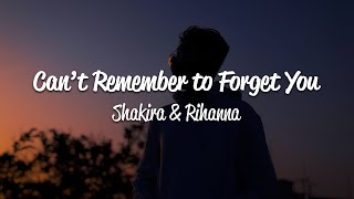 Shakira - Can't Remember to Forget You (Lyrics) ft. Rihanna