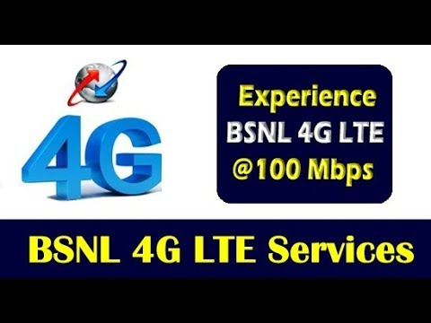 bsnl latest news to launch 4G LTE services in january