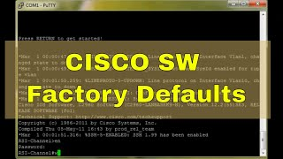Cisco Switch 2950/2960 Reset to Factory Defaults(, 2015-12-01T12:50:15.000Z)