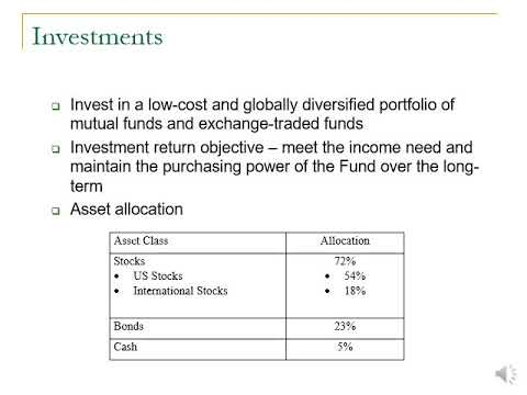 How The Endowment Fund Works