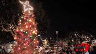 Main Street Santa Monica Celebrates The Holidays