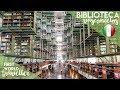 Biblioteca Vasconcelos | AMAZING library in CDMX! | MEXICO CITY - **Traducción al español**