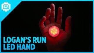 3D Printing Logan's Run Hand Jewel LED
