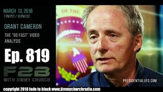 Ep. 820 FADE to BLACK Jimmy Church w/ Grant Cameron : Analyzes the