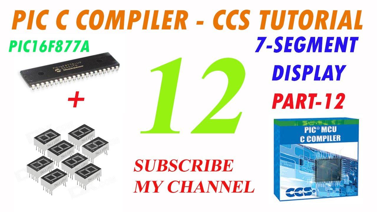 Tutorial de ccs #21:lcd y c. I. 74hc595 (pic c compiler) youtube.
