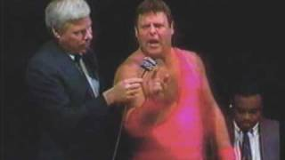 Jerry Lawler Fireballs The Harlem Knights (1993) USWA Memphis Studio Wrestling