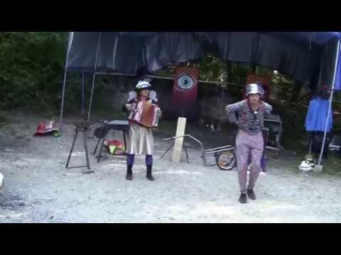 Aboriginali Circus : spectacle de jonglerie , Festifil Festival, La Sarraz(Suisse)