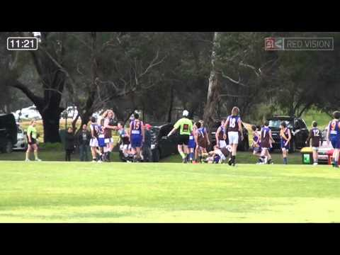 SMJFL 2014 Under 12 Blue Beaumaris Black Tails v Ormond Blues