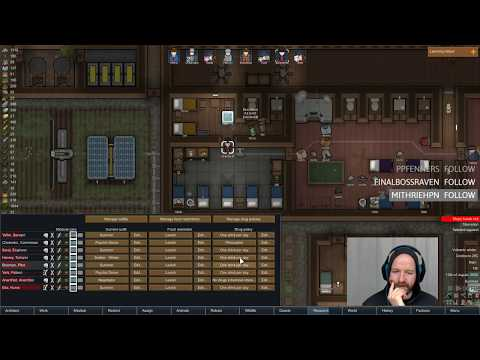 Скачать Rimworld [Crash Landed  Cassandra  Rough] Objective: destroy a  pirate base, leave the planet! Ep13  - смотреть онлайн - Видео