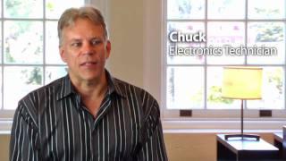 Meet An Expert  Chuck Electronics Technician