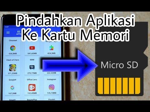Cara Memindahkan Penyimpanan Aplikasi Ke SD Card