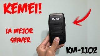 REVIEW Y UNBOXING: KEMEI KM 1102 (SHAVER) - ESPAÑOL (resultados)