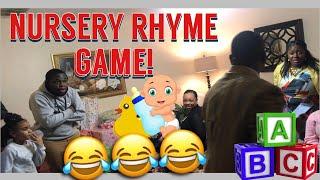 Baby Shower Nursery Rhyme Game 🍼 👶🏽 | Must Watch!!!! 😂😂😂