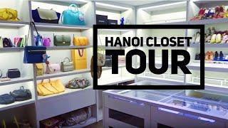 Hanoi Closets Tour (Main Closet + Accessories Room) | wenwen stokes