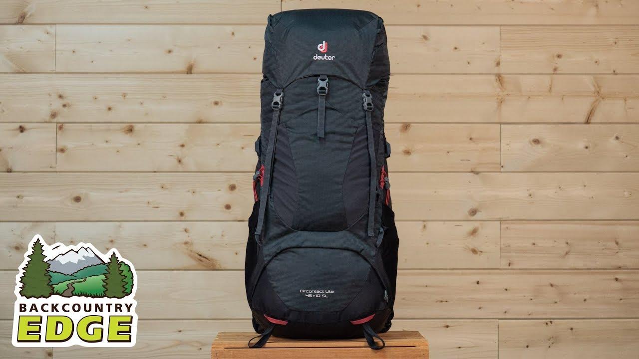 f279d6312d Deuter Aircontact Lite 45 + 10 SL Women's Internal Frame Backpack ...