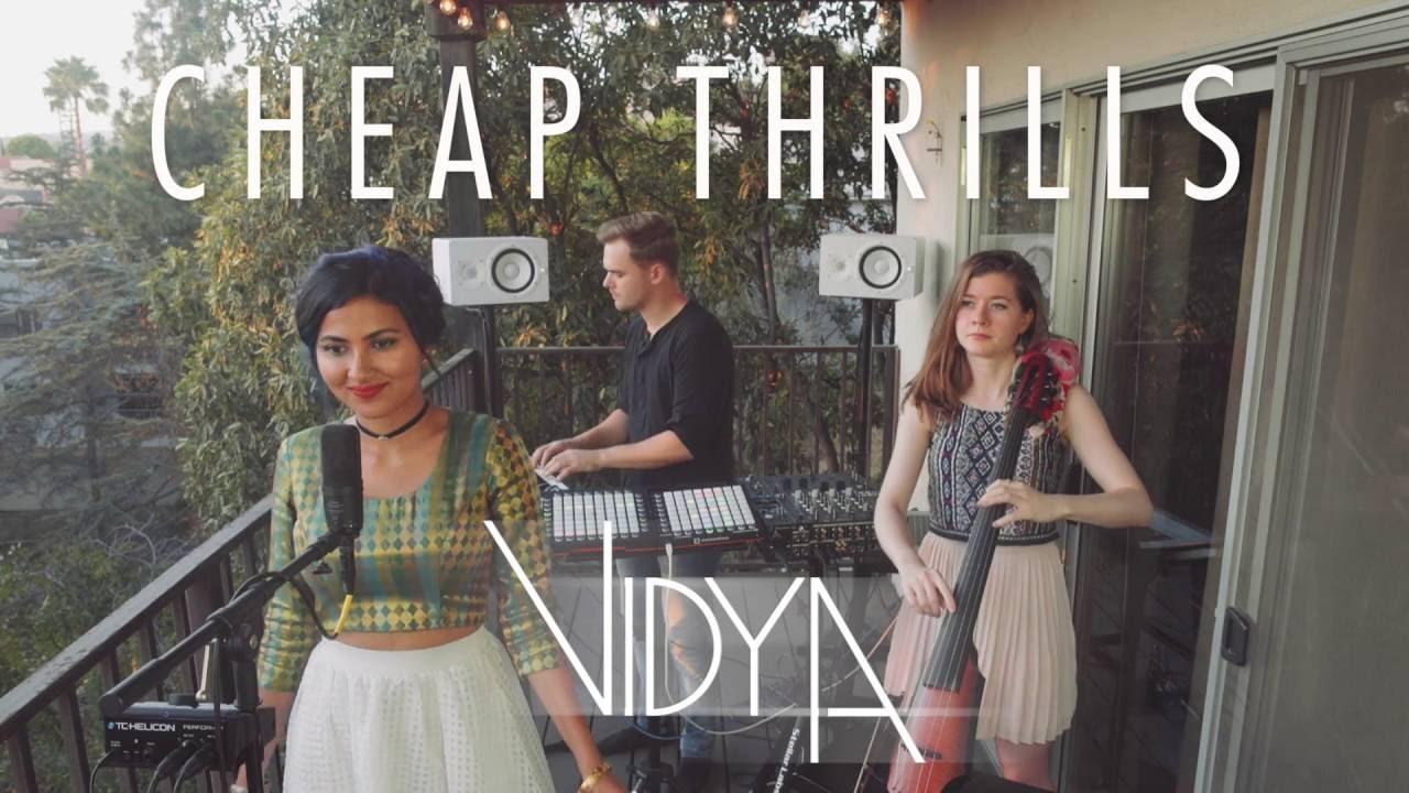 Download Sia - Cheap Thrills (Vidya Vox Cover) (ft. Shankar Tucker & Akshaya Tucker)