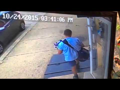 Postal worker bad day