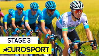 Tour de France 2019 | Stage 3 Highlights | Cycling | Eurosport