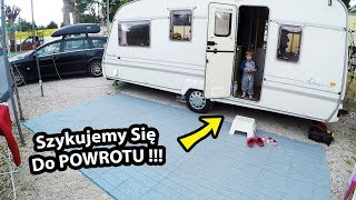 Szykujemy się do Polski !!! - Drobne Naprawy w Przyczepie Kempingowej (Vlog #249)
