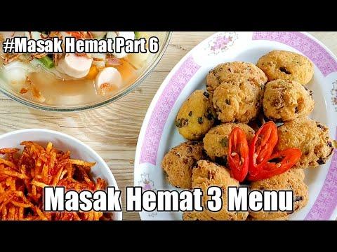 Masak hemat 3 menu  Menu  masakan  rumahan murah  meriah 4