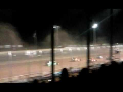 IMCA Modified feature Luxemburg Speedway 6-17-16 Jon Soukup Memorial