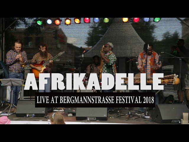 Afrikadelle  (Sedjolo) | Bergmann festival in Berlin 2018