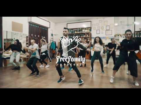 Hip Hop Choreography Ep. 1 | Vincenzo Spike | Rihanna Pon De Replay Remix | FreeFamilyProject