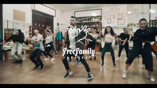 Hip Hop Choreography Ep. 1 | Vincenzo Spike | Rihanna Pon De Replay Remix | FreeFamilyProject