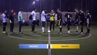 [ Playoff Serie B ] Old City - Papa Boys (Calcio a 5)