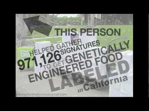 You Are What You Eat. Know Who You Are. - Label genetically-modified food in CA