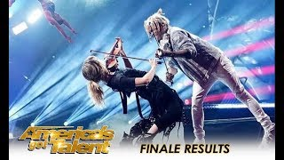 Baixar O.M.G! Lindsey Stirling + Brian King Joseph + Zurcaroh + Duo Transcend | America's Got Talent 2018