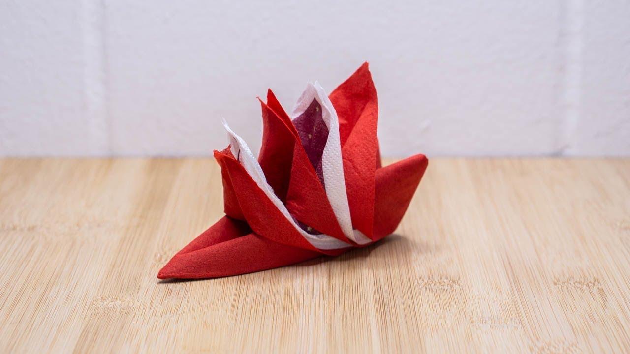 How To Fold Two A Napkins Napkin Folding