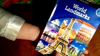 Soft Spoken Read, World Landmarks, Children's Book, Relaxing, Chewing Gum, ASMR